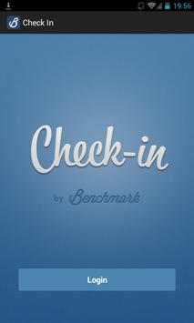 Check-in by Benchmark Events poster