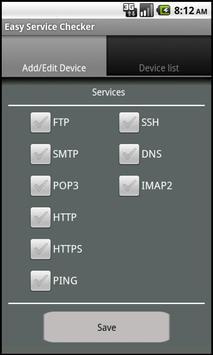 Easy Service Checker apk screenshot