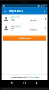 Mercer Marketplace Benefits apk screenshot