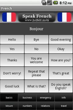 Speak French Free poster
