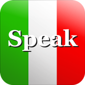 Speak Italian Free icon