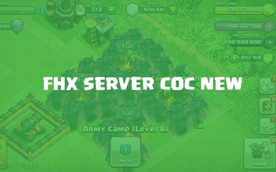 FHX COC V8 Update! apk screenshot