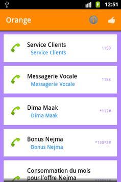 USSD SERVICES au Maghreb apk screenshot
