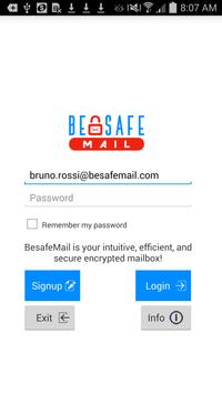 BeSafeMail - Encrypted Mail poster