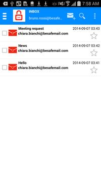 BeSafeMail - Encrypted Mail apk screenshot