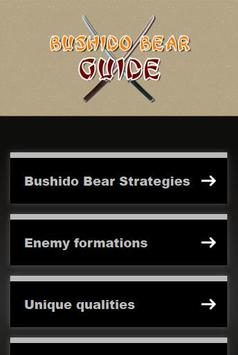 Guide Bushido Bear apk screenshot