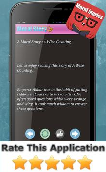 Best Moral Story in English apk screenshot