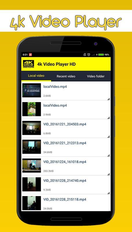 4k Video Player HD APK Download