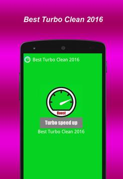 Best Turbo Clean 2016 apk screenshot