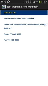 Best Western Stone Mountain apk screenshot