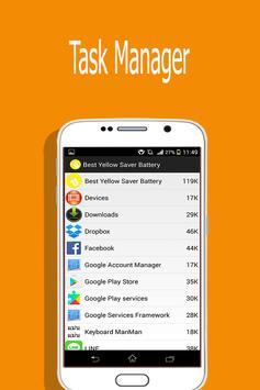 Best Yellow Saver Battery apk screenshot