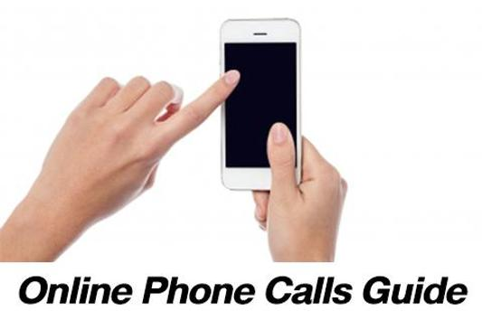 Online Phone Calls Guide poster