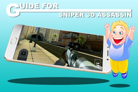 Guide for Sniper 3D Assassin poster