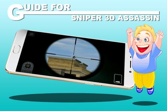 Guide for Sniper 3D Assassin apk screenshot