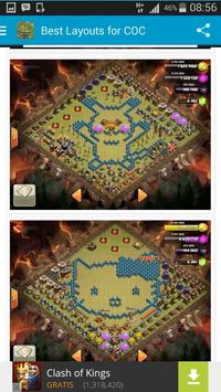 Best Layouts for COC poster