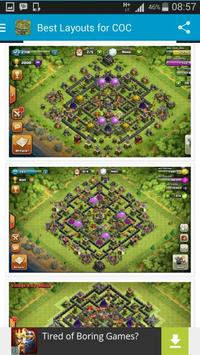 Best Layouts for COC apk screenshot