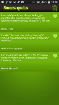 Beautiful quotes of success apk screenshot