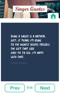 Best Quotes from Singer apk screenshot