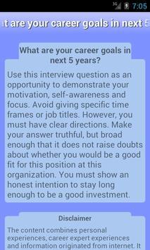 Job Interview Q&A apk screenshot