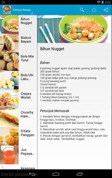 Resep Masakan Anak Sekolah poster