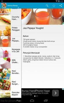 Resep Masakan Anak Sekolah apk screenshot
