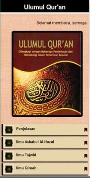 Ulumul Al-Qur'an poster