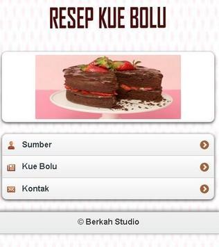 Kue Bolu Enak apk screenshot