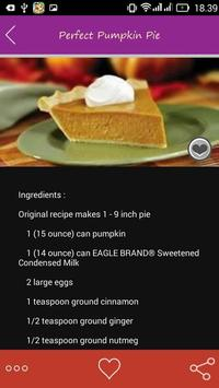 Pie Recipes Special apk screenshot