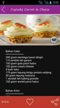 Resep Cupcake Special apk screenshot