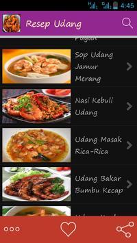 Aneka Resep Udang apk screenshot