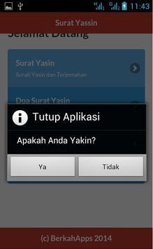 Surat Yasin dan Terjemahan apk screenshot