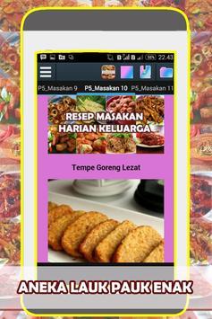 Resep Masakan Harian Keluarga apk screenshot
