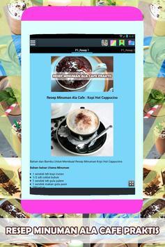 Resep Minuman Ala Cafe Praktis poster