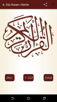 Kuran-ı Kerim 6.Cüz apk screenshot