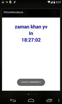Ethos Attendance SmartApp apk screenshot