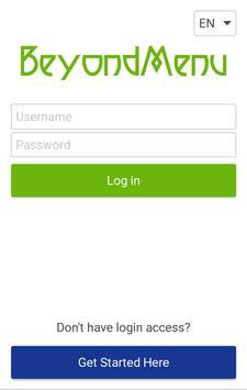 BeyondMenu - Restaurant Owners apk screenshot