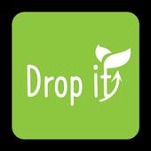 Drop it icon
