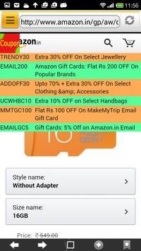 C3 Browser - Cashbacks/Coupons apk screenshot