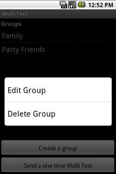 Multi Text apk screenshot