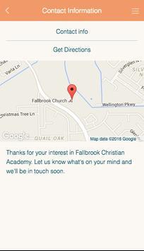 Fallbrook Christian Academy apk screenshot
