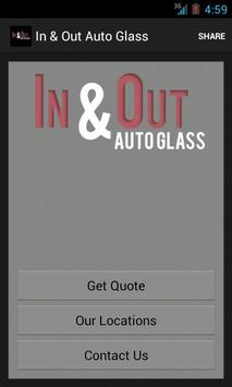 In & Out Auto Glass apk screenshot