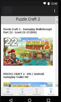 Guide for Puzzle Craft 2 apk screenshot