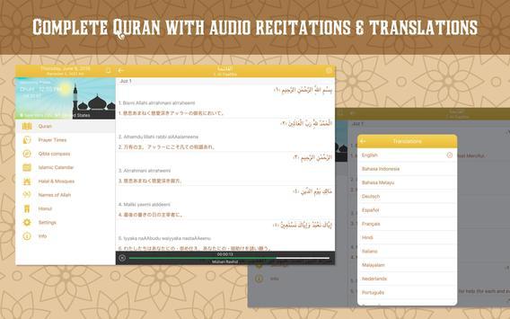 Quran with Muslim Prayer Times apk screenshot