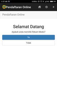 Pendaftaran Online Soewondo apk screenshot