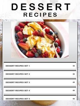 Dessert Recipes poster
