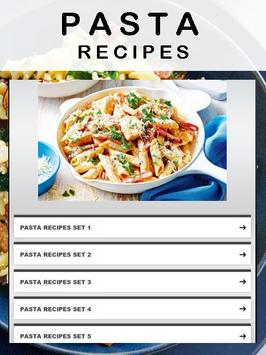 Pasta Recipes apk screenshot