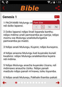 Nyanja Bible apk screenshot