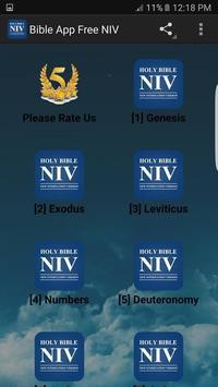 Bible App Free NIV poster