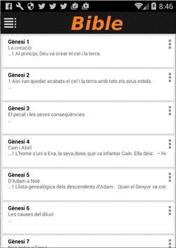 Biblia en Català apk screenshot