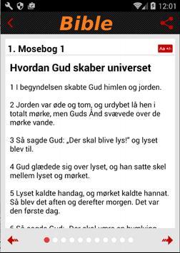 Danish Bible apk screenshot